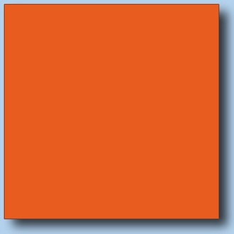 2,5x2,5 RAL 2010 Orange Glossy (NN)